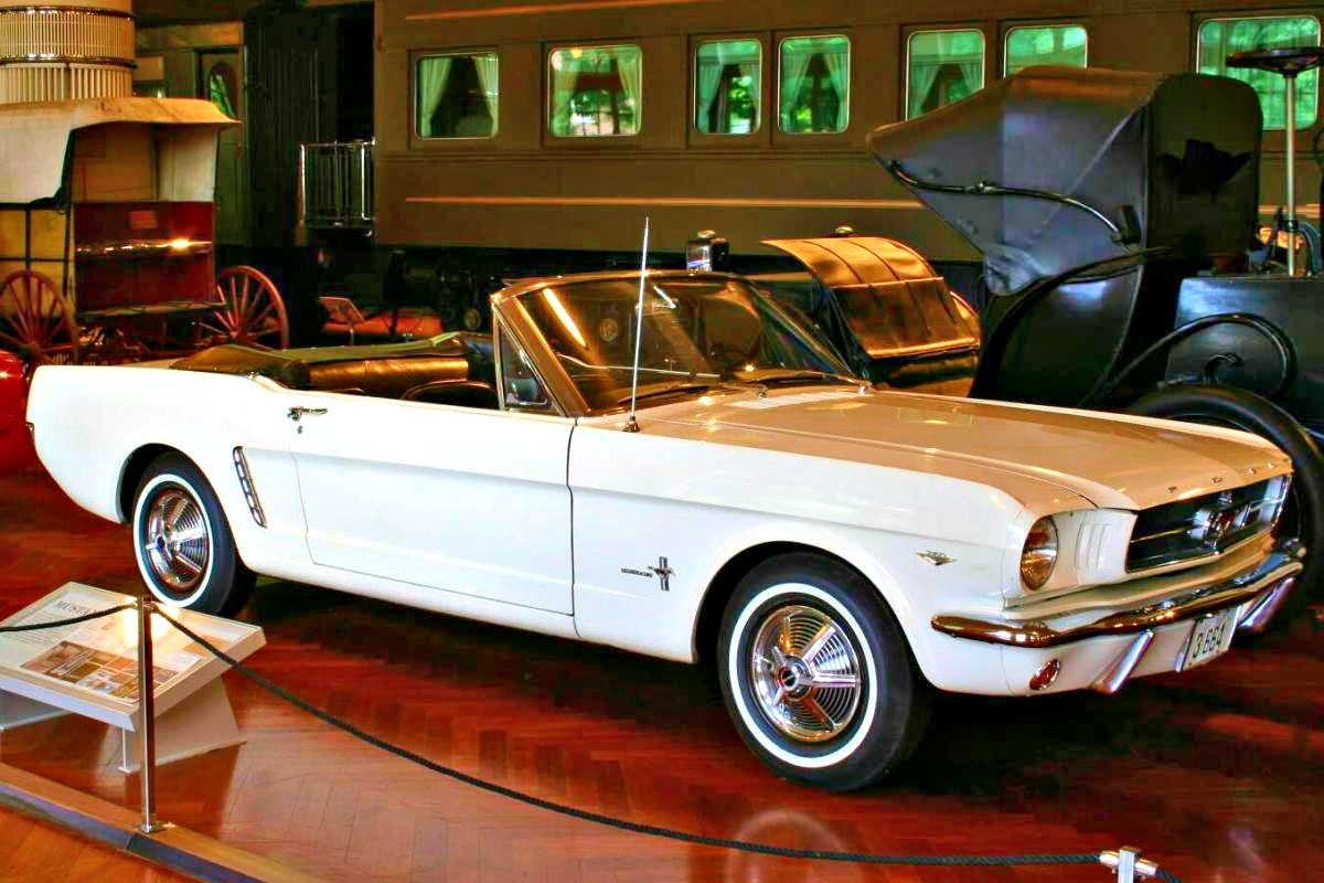 First Mustang at Henry Ford Museum 2