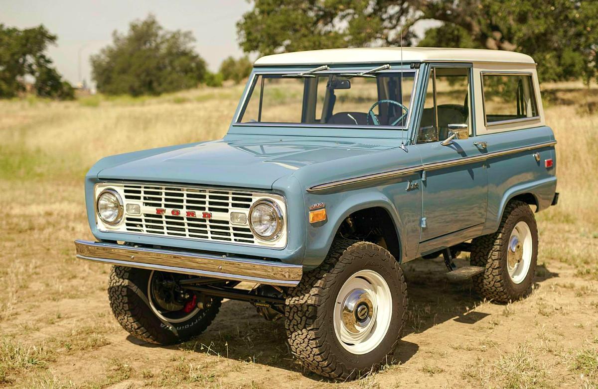 Prototype Ford Bronco