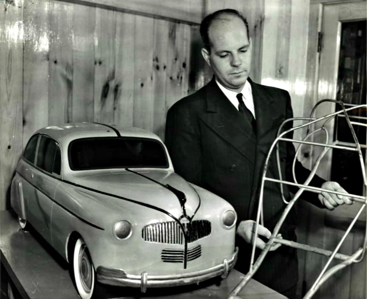 1941 Ford Soybean Car 1