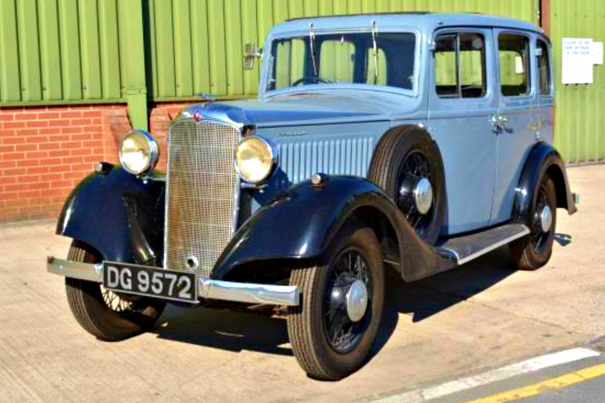 1934 Vauxhall Light Six ASY