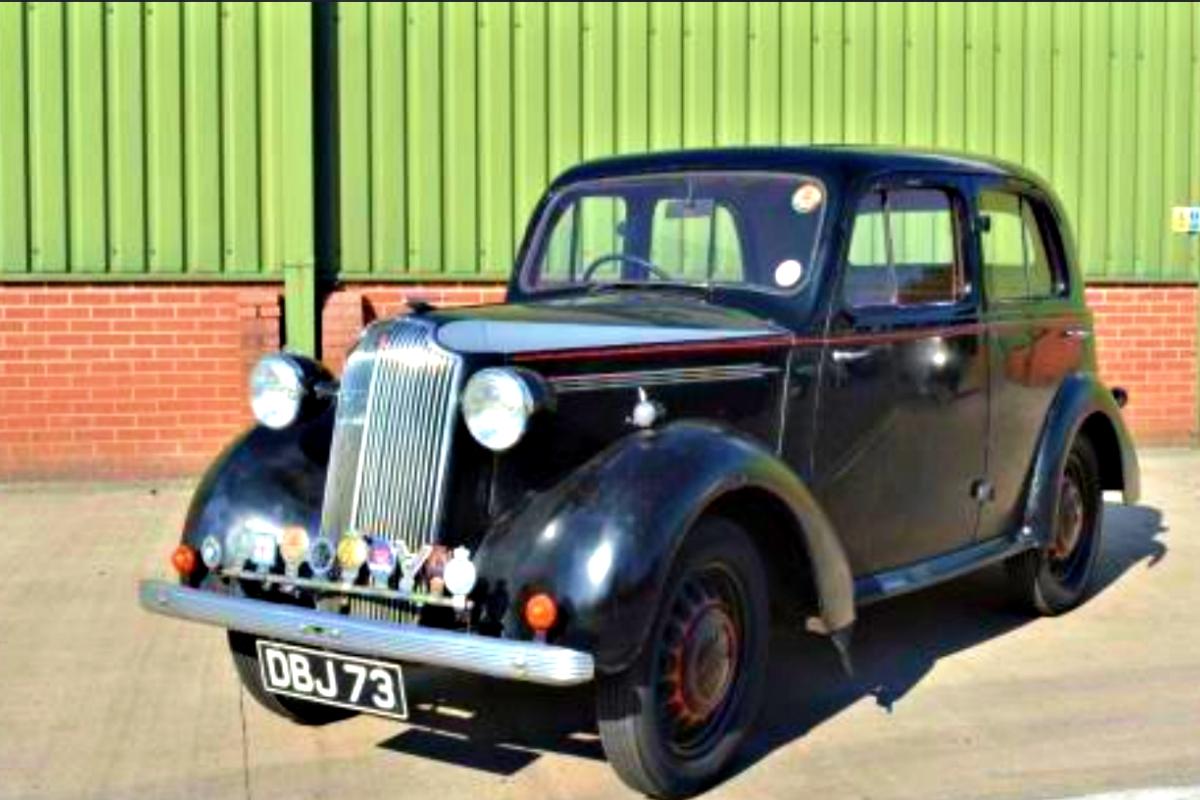 1937 Vauxhall 10 4 H Type