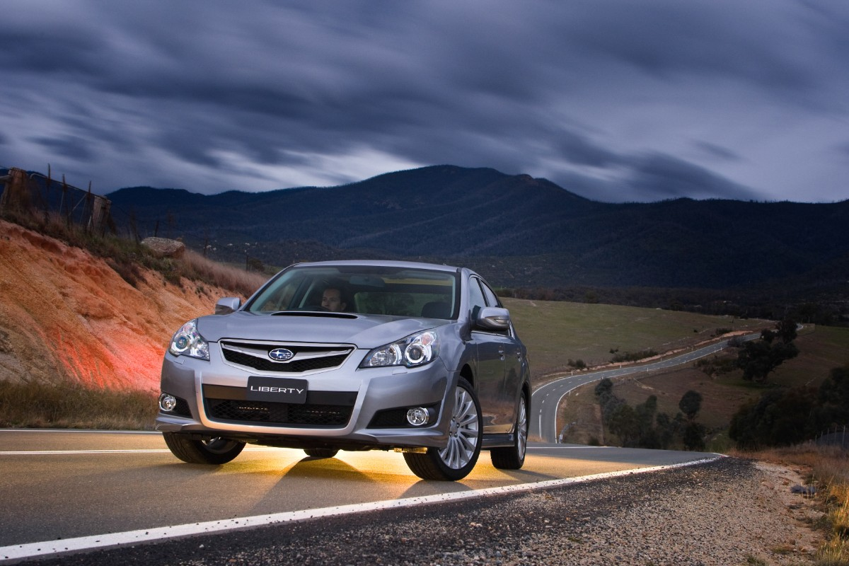 Fifth generation Subaru Liberty