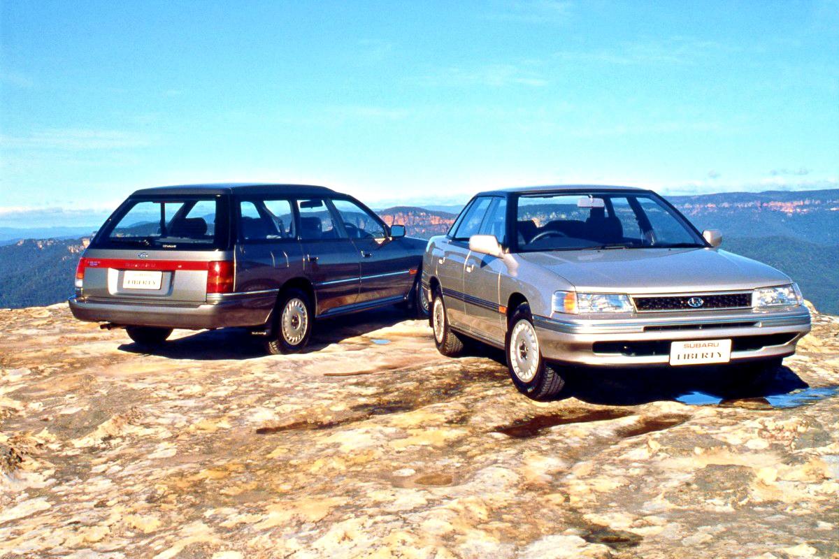 First generation Subaru Liberty