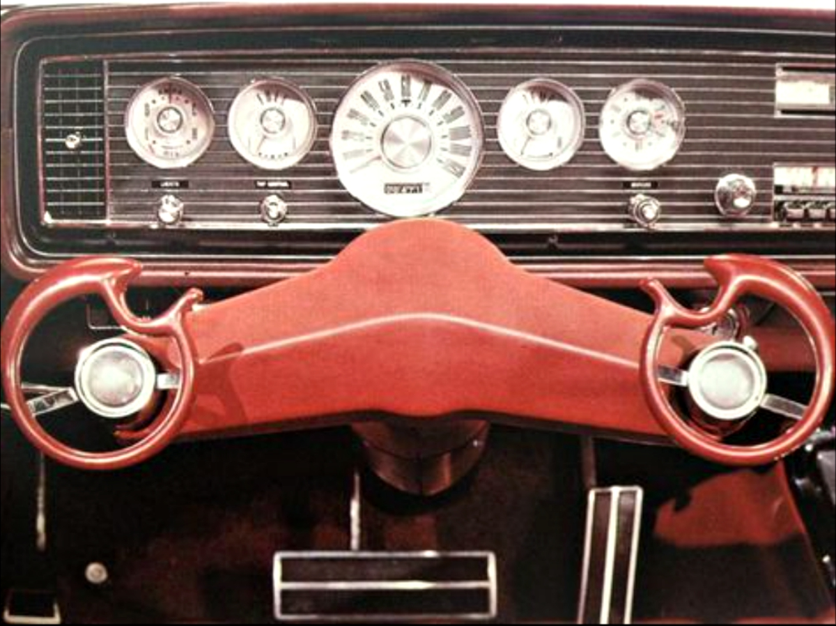 Ford wrist twist steering 3
