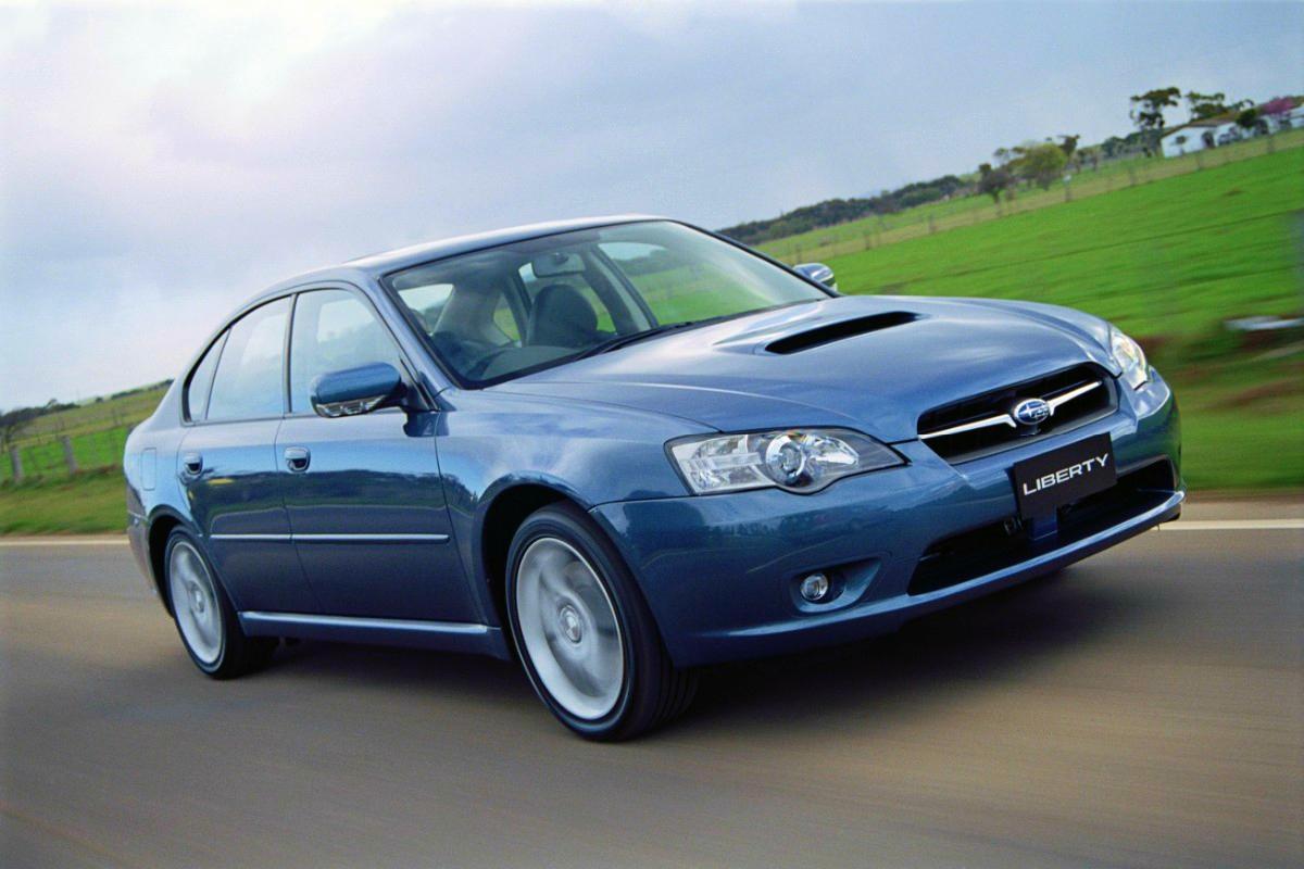 Fourth generation Subaru Liberty