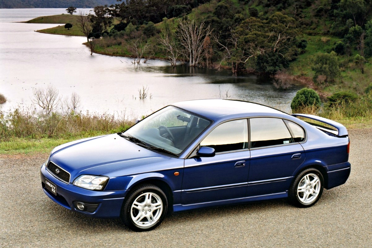 Third generation Subaru Liberty