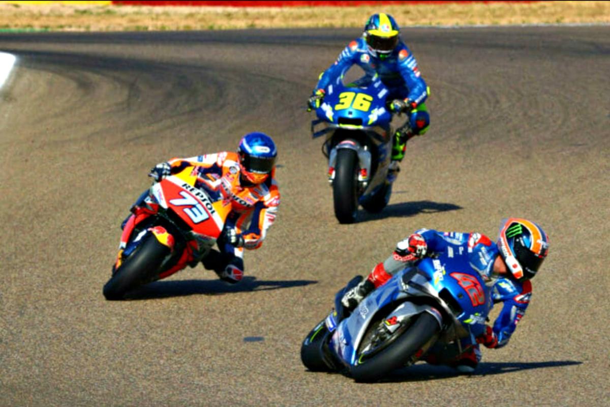 2020 Aragon MotoGP Rins Marquez Mir