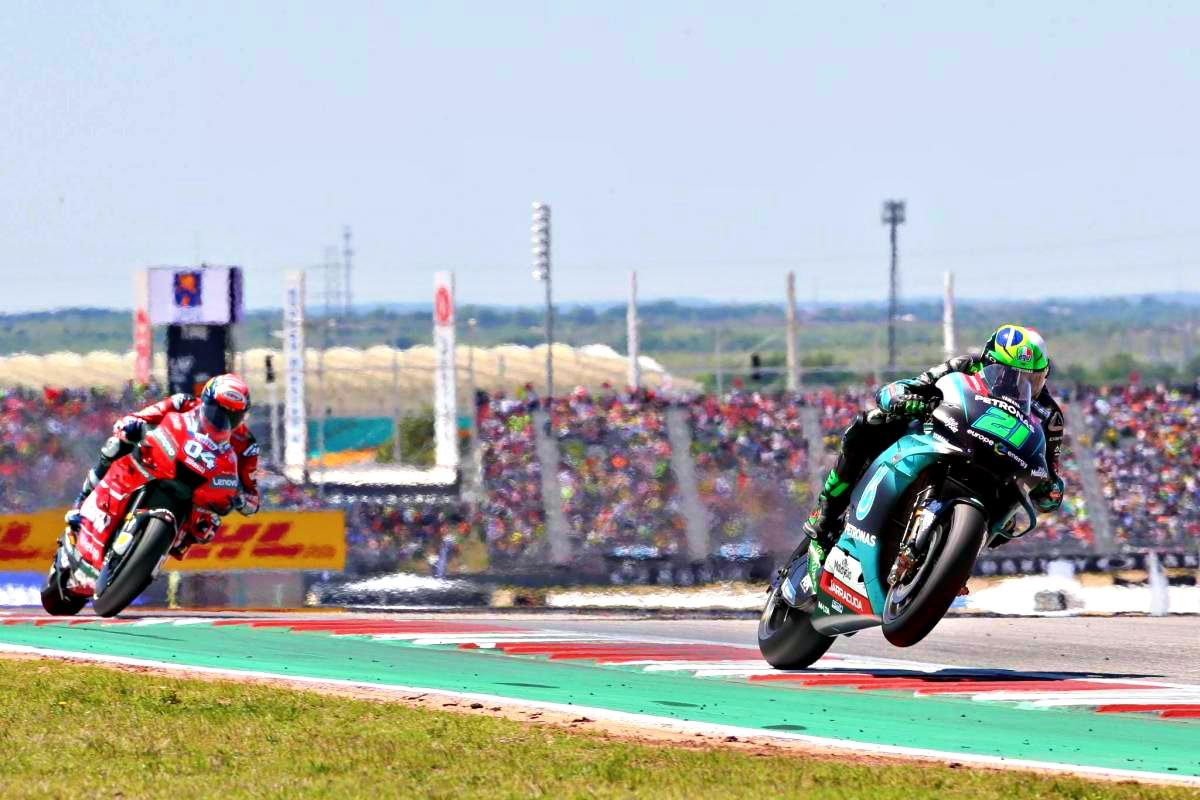 2020 Teruel Grand Prix Morbidelli and Dovizioso