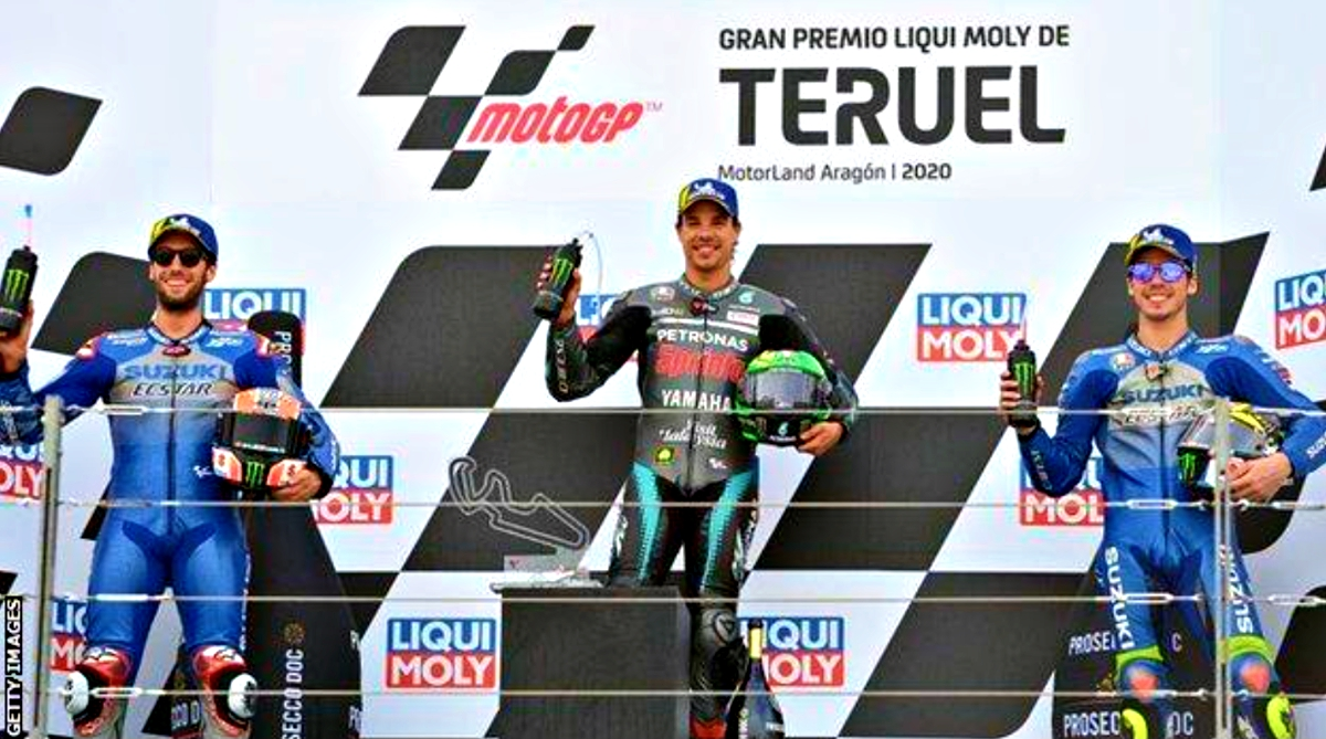 2020 Teruel Grand Prix podium