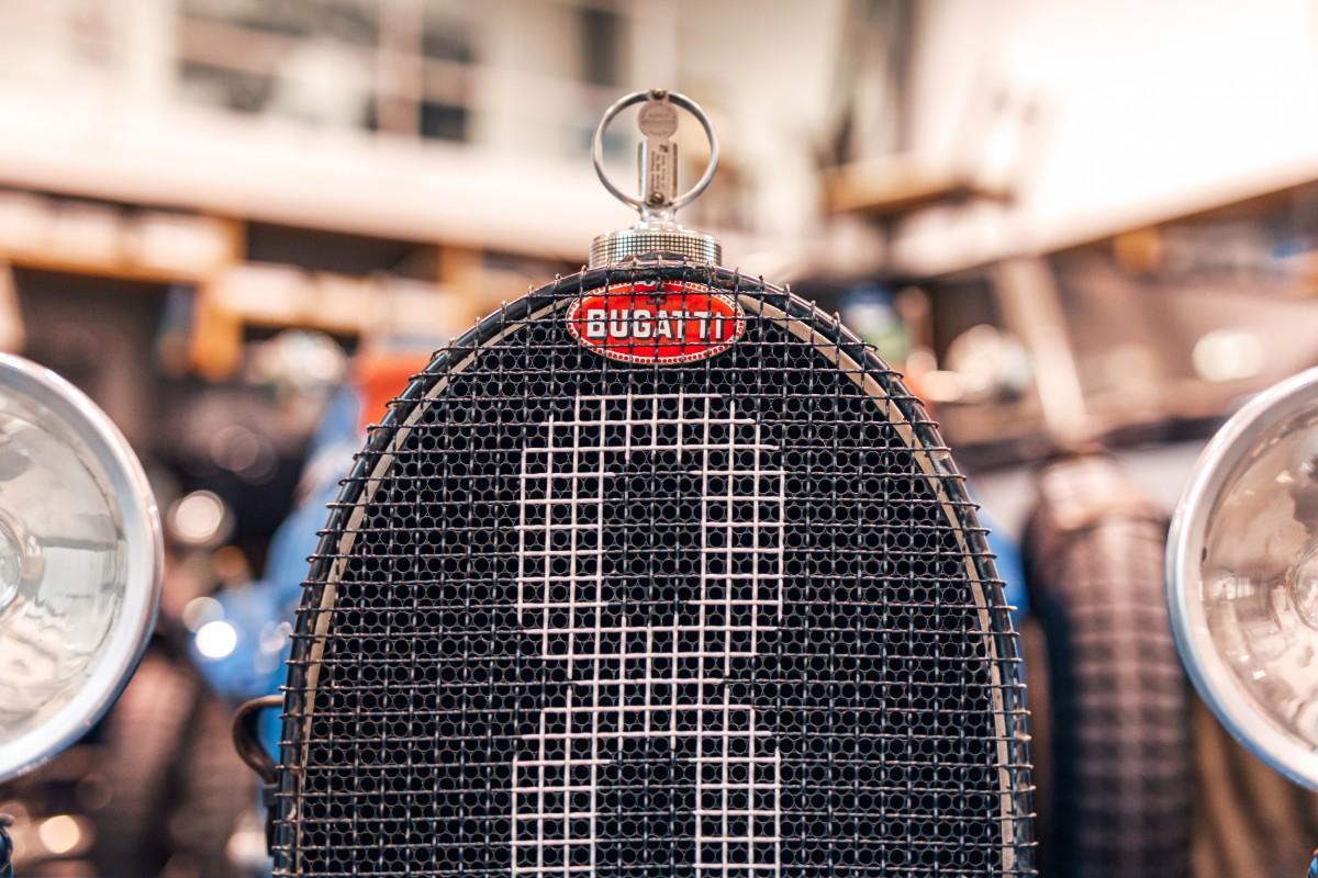 Bugatti badge a work of art