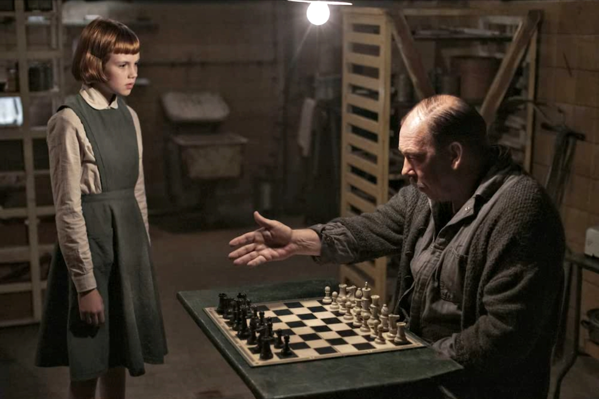 Mr. Shaibel Bill Camp ivites Beth Isla Johnston to play her first game