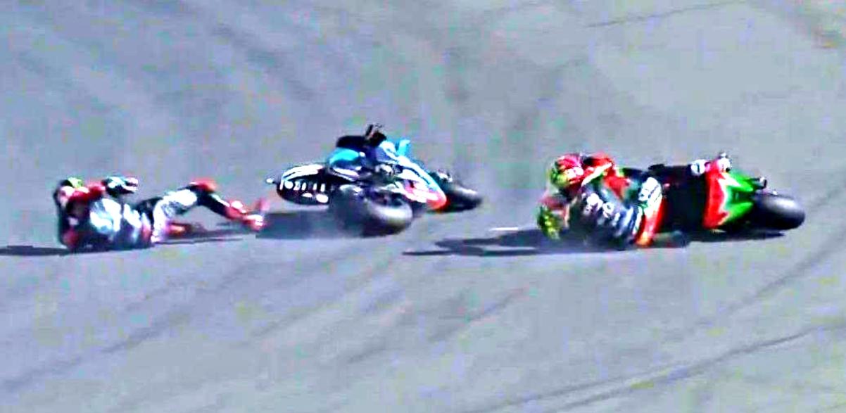 2020 European MotoGP oops