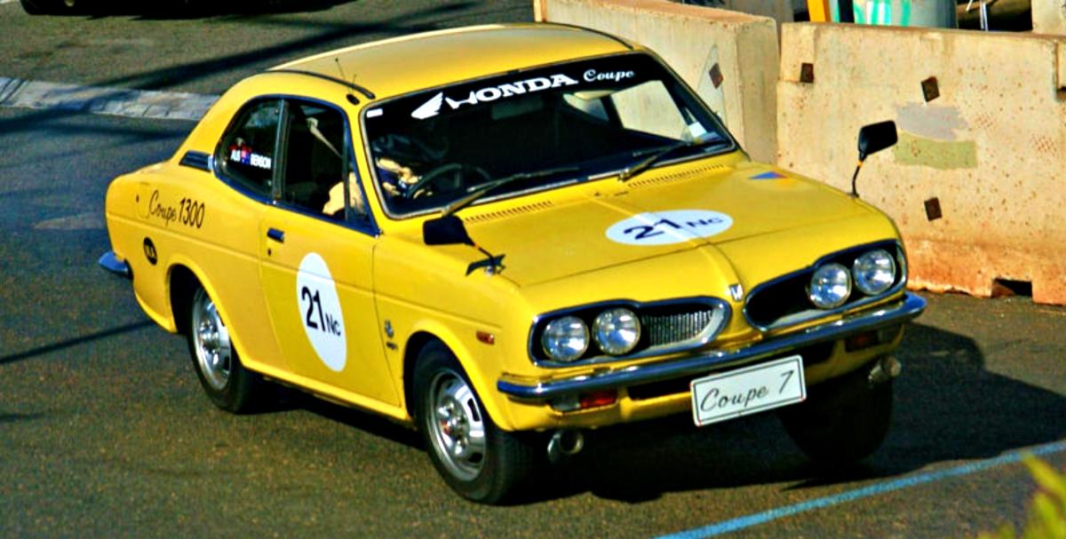 Honda Coupe 7 racing