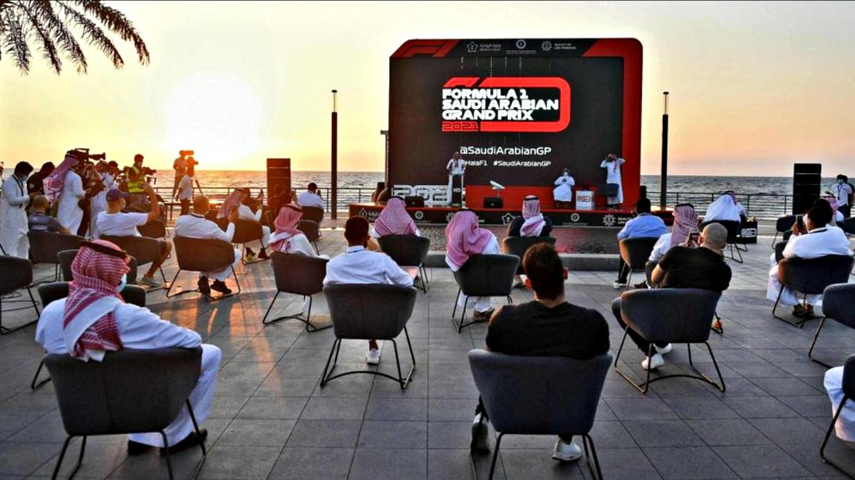 Jeddah Formula race 3