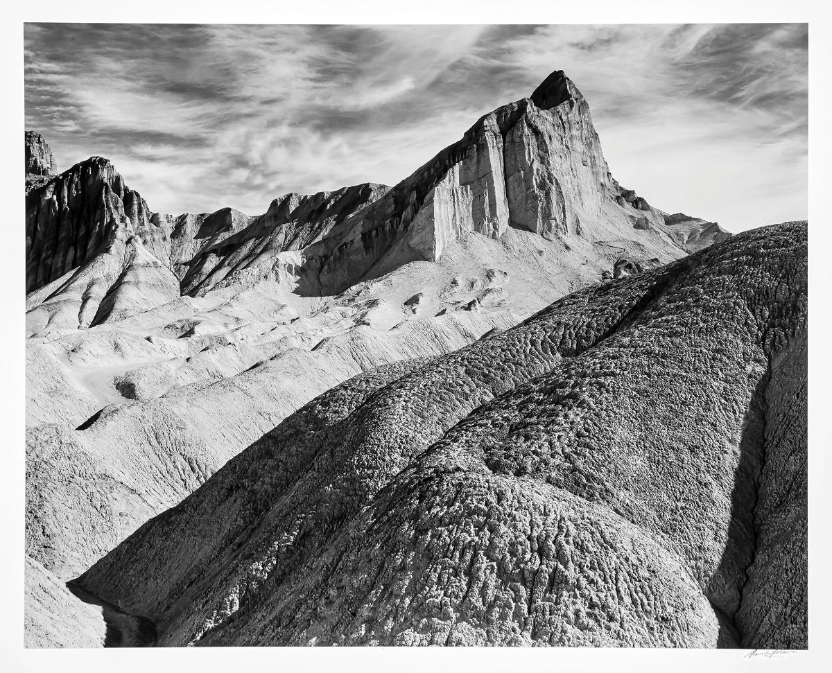Manly Beacon Death Valley National Monument California circa 1952