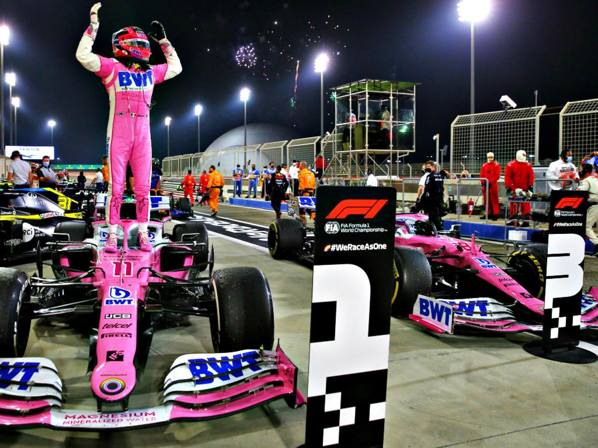 2020 Sakhir Grand Prix Perez wins