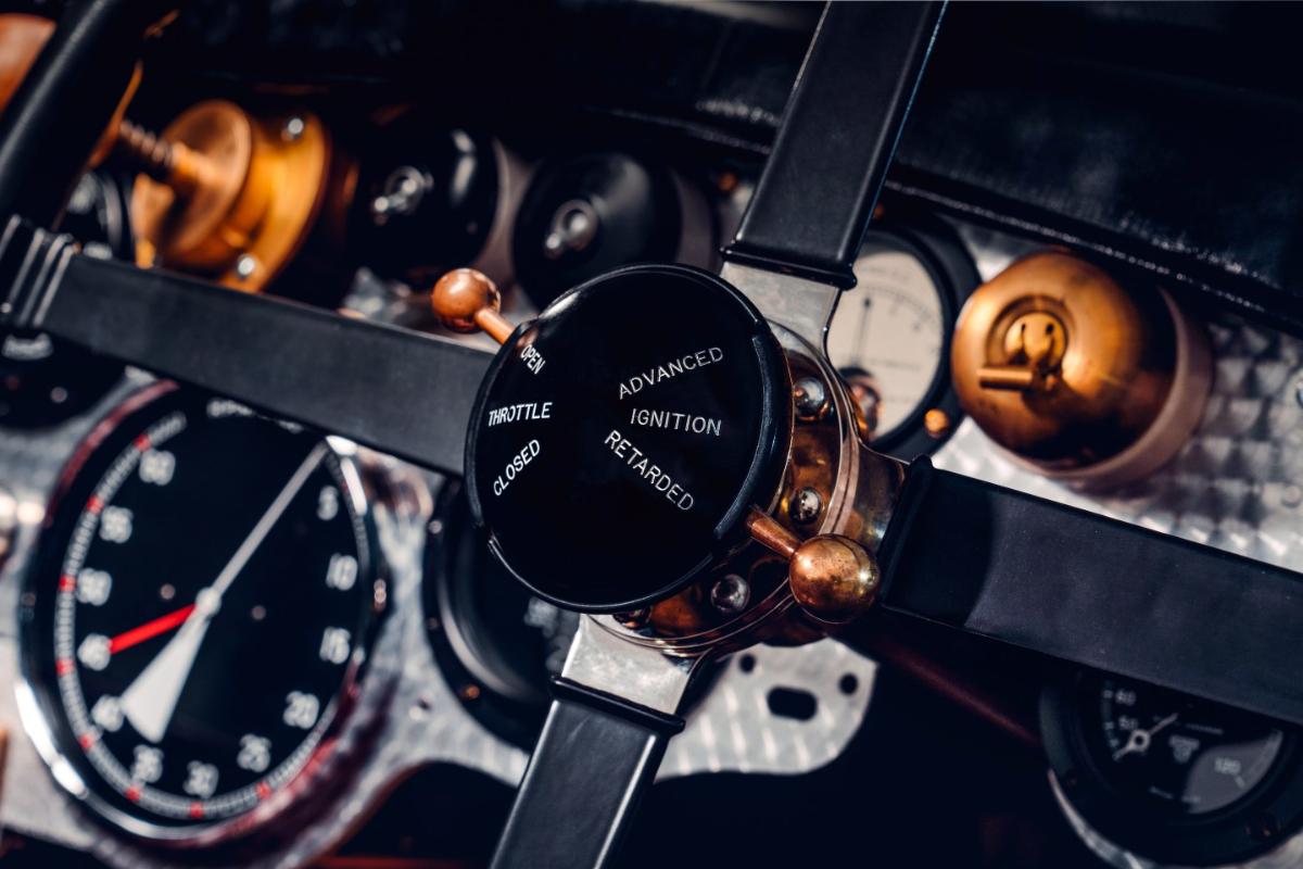 Bentley Blower controls