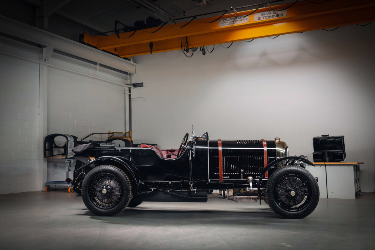 Bentley Blower profile