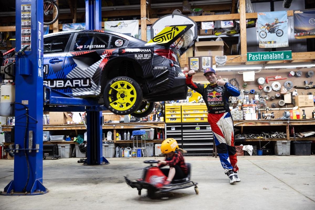 Subaru Gymkhana Travis Pastrana 3