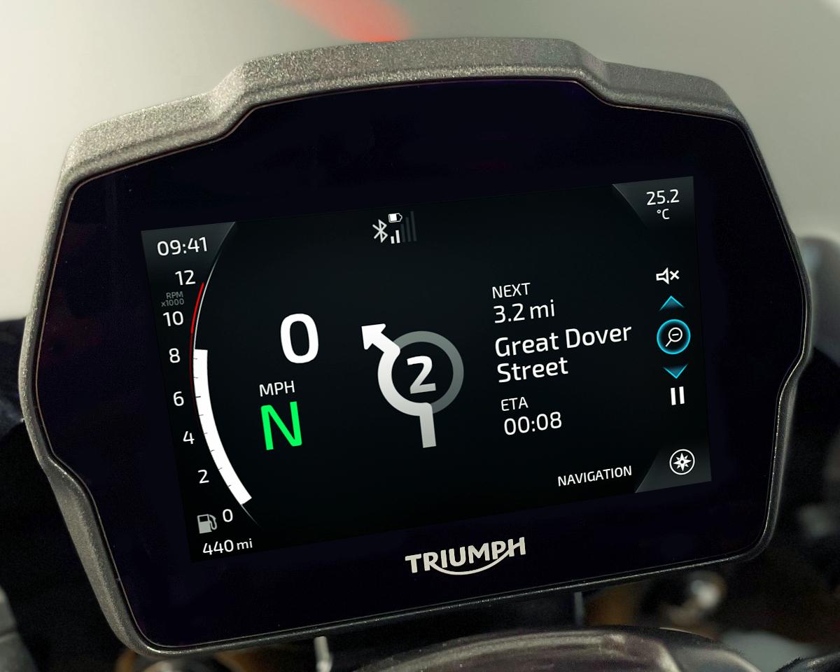 2021 Triumph Speed Triple 1200 RS 10
