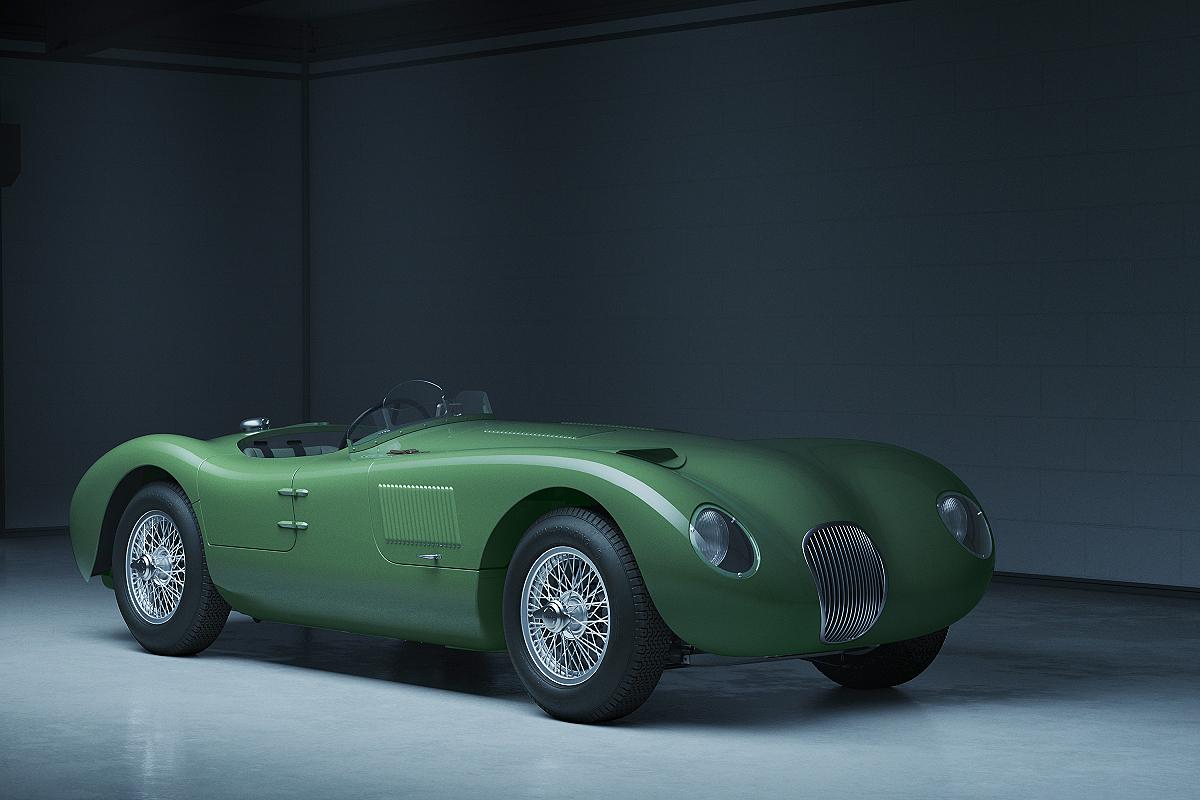 Jaguar Classic C Type 2