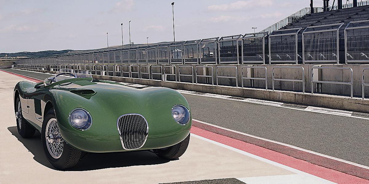 Jaguar Classic C Type 4