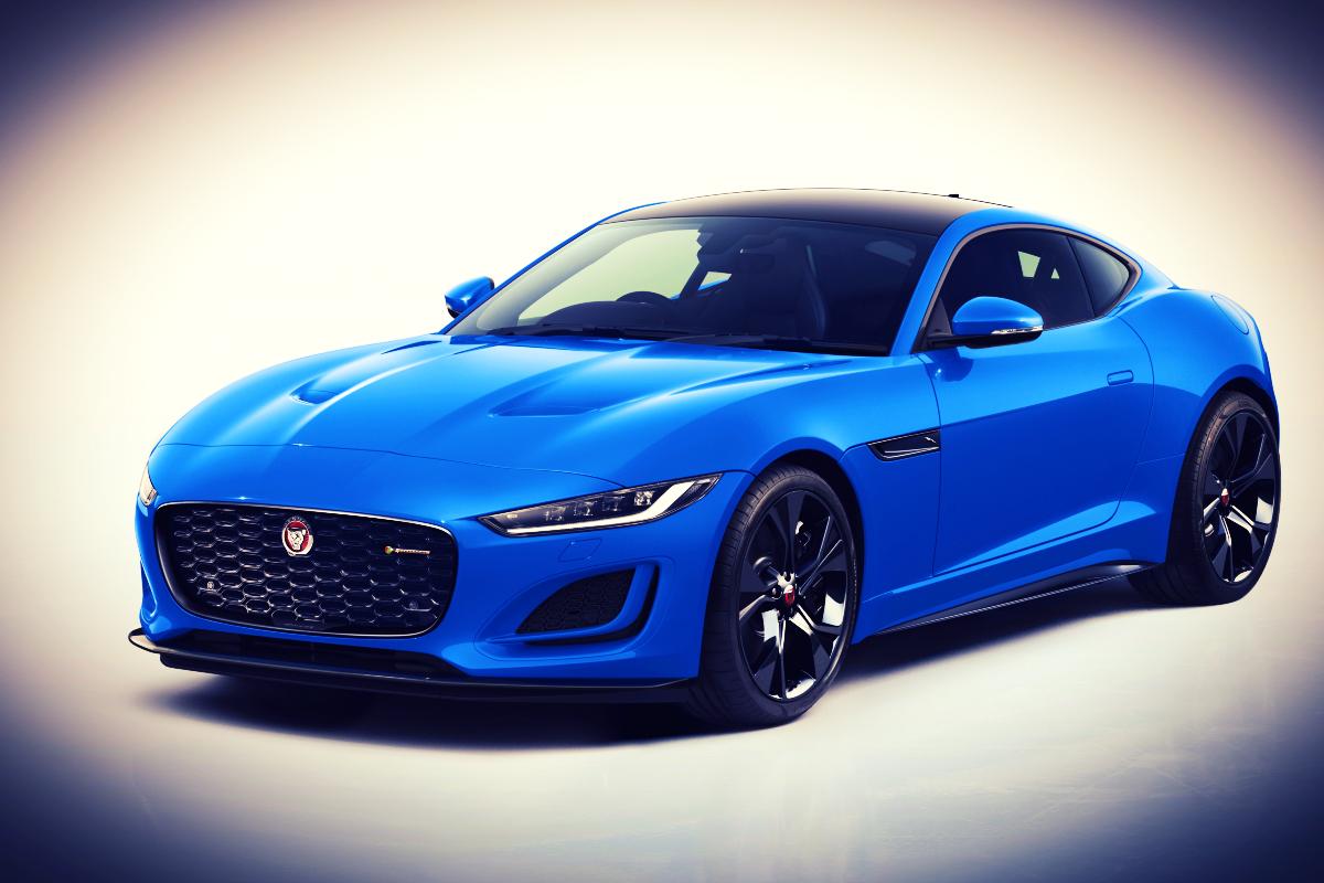 Blue who? Jaguar F-Type Reims Edition