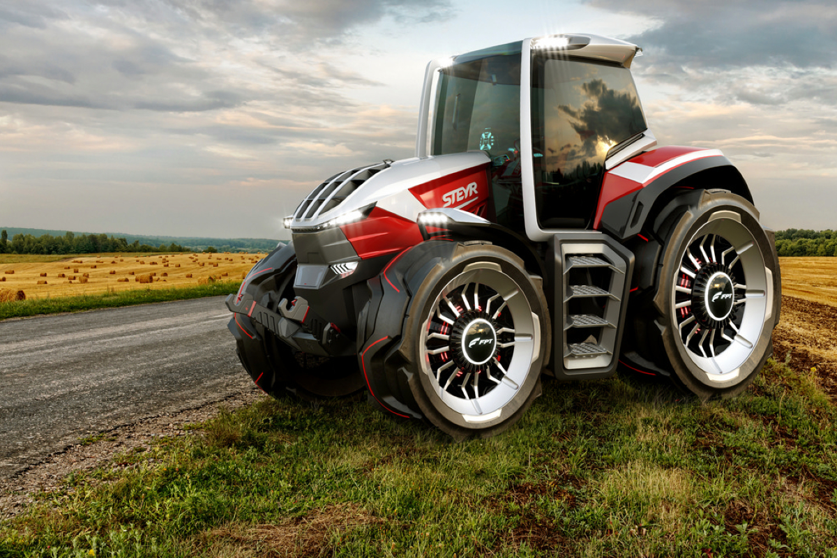 Steyr Konzept Tractor