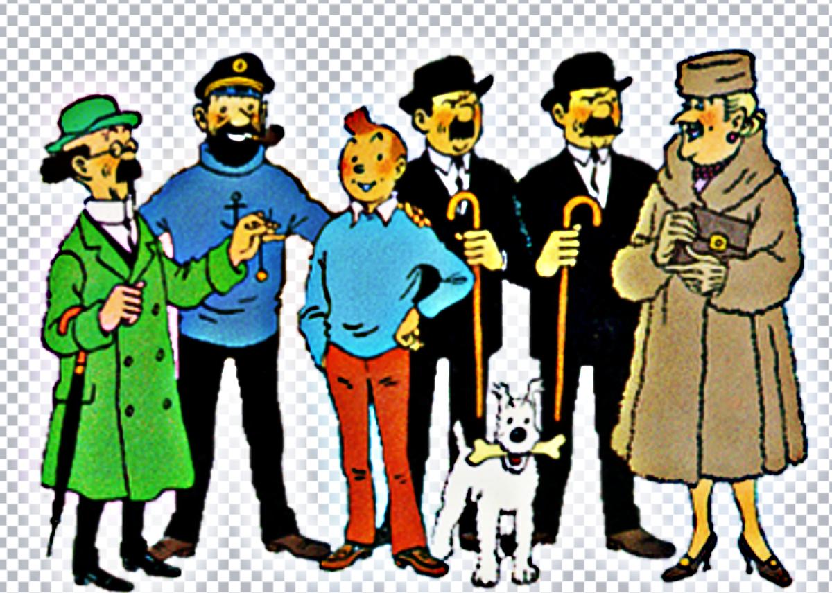 Tintin characters