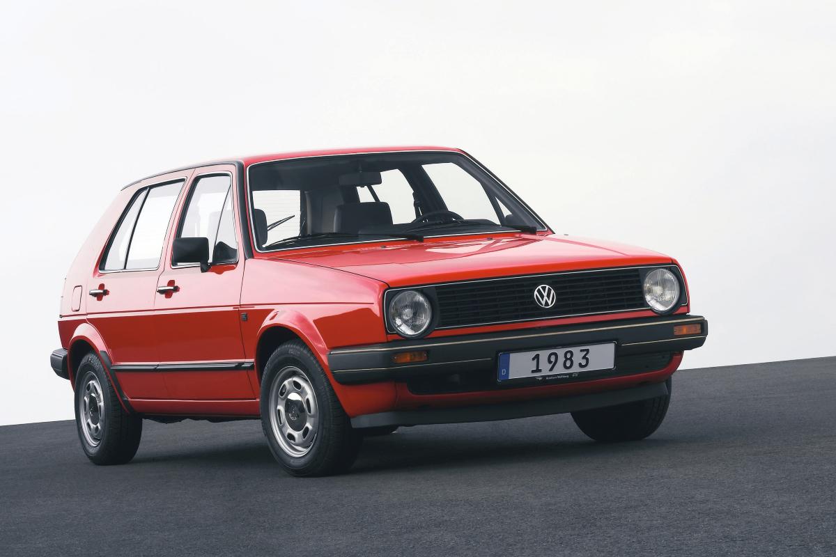 Volkswagen Golf Gen II