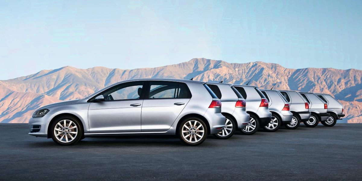 Volkswagen Golf Range