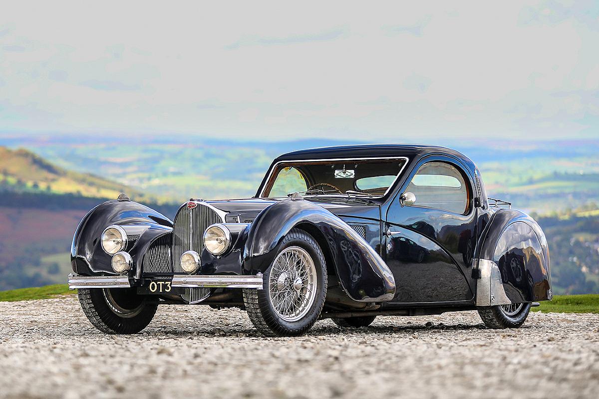 1937 Bugatti Type 57S Atalante 1