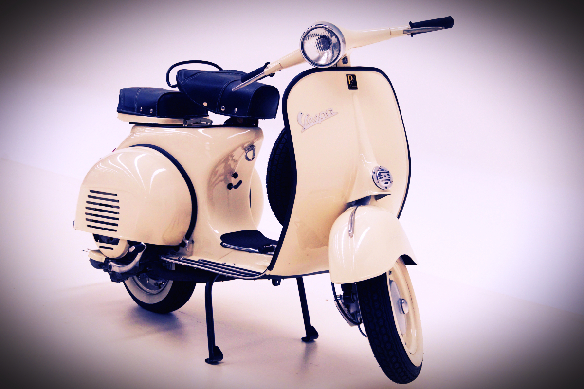 Vespa good as new after 60 years