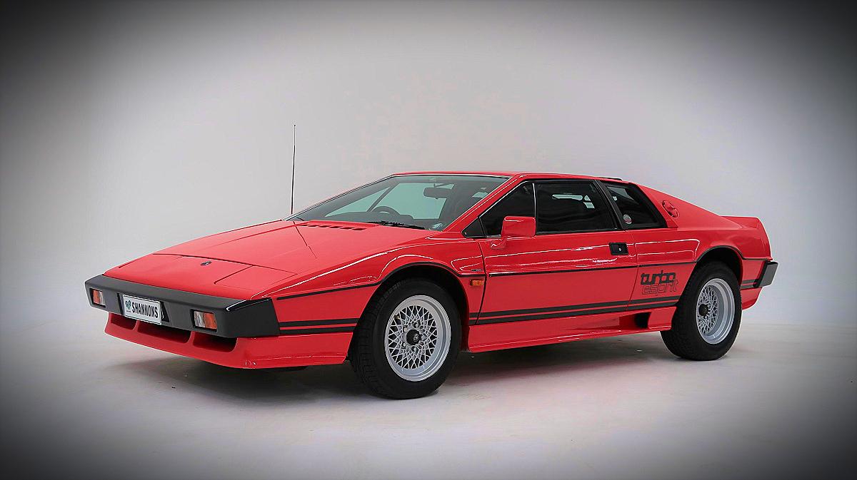 1982 Lotus Esprit Turbo Coupe 10
