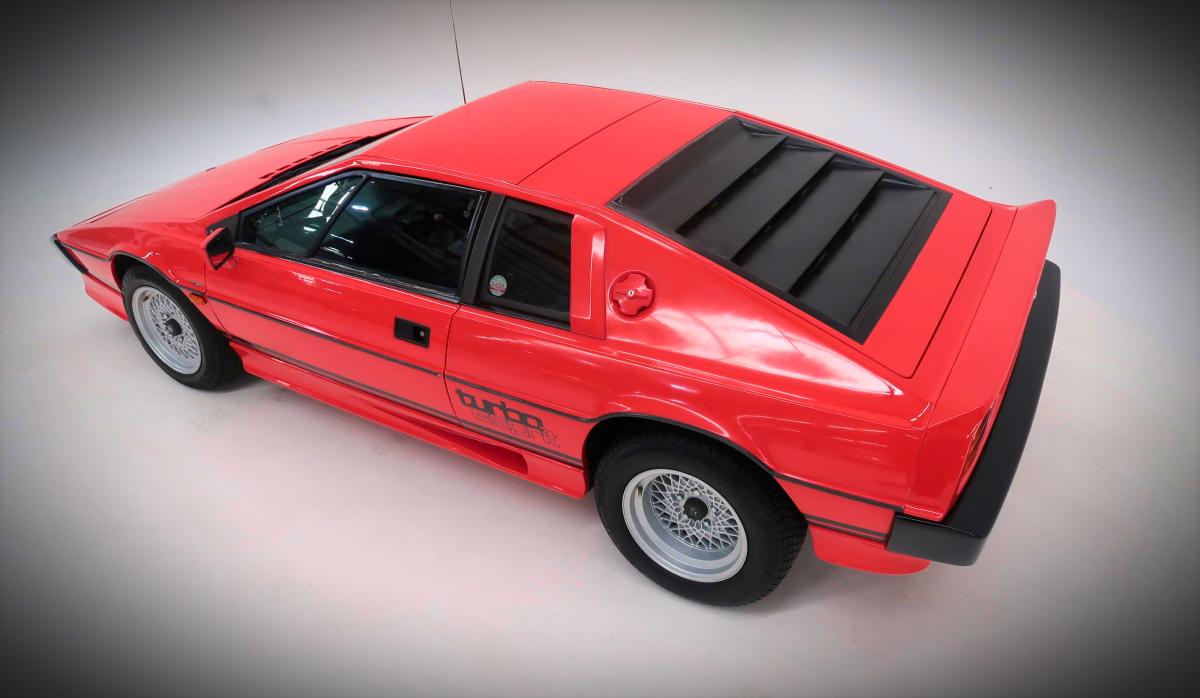 1982 Lotus Esprit Turbo Coupe 9