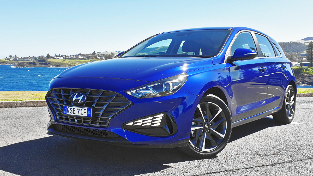 2021 Hyundai i30 Elite hatch 1