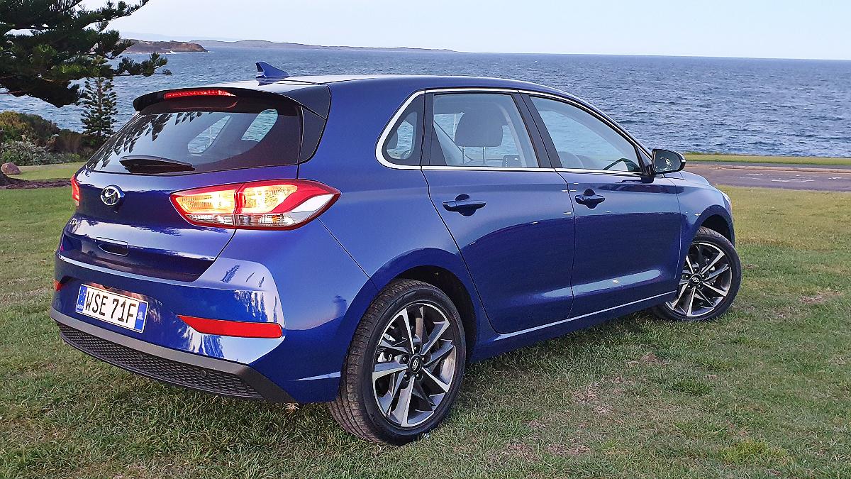 2021 Hyundai i30 Elite hatch 2