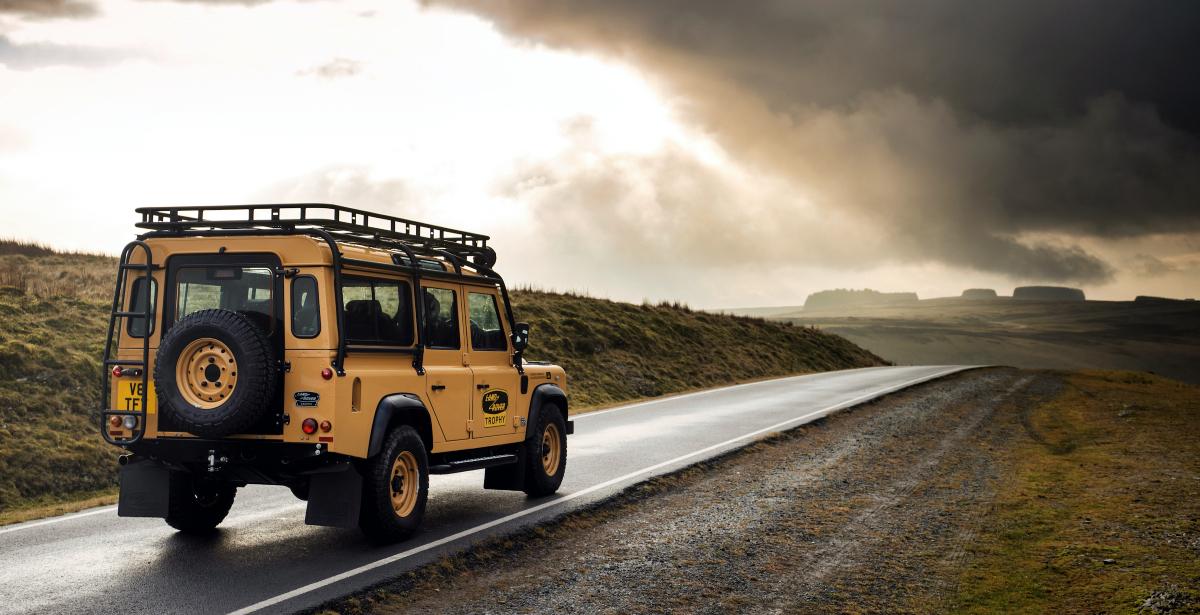 2021 Land Rover Defender Classic Works V8 Trophy 1