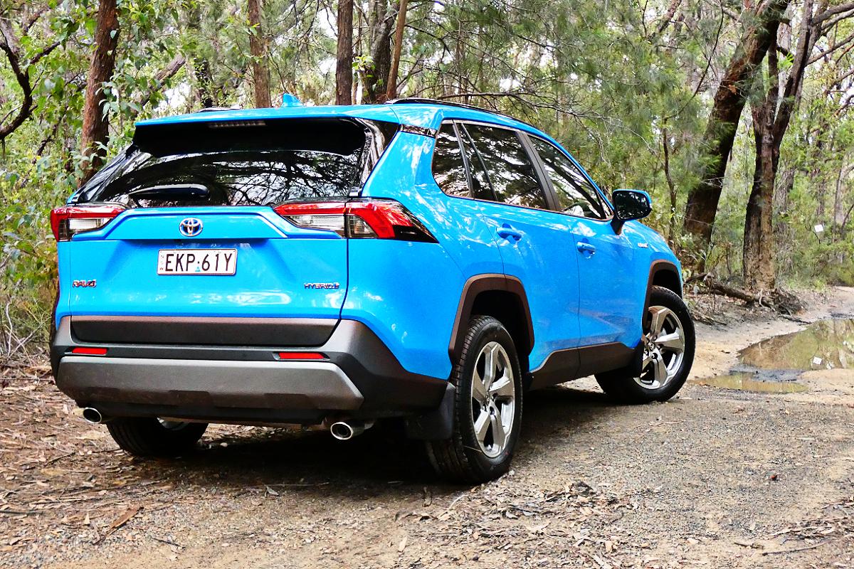 2021 Toyota RAV4 GXL Hybrid AWD 2
