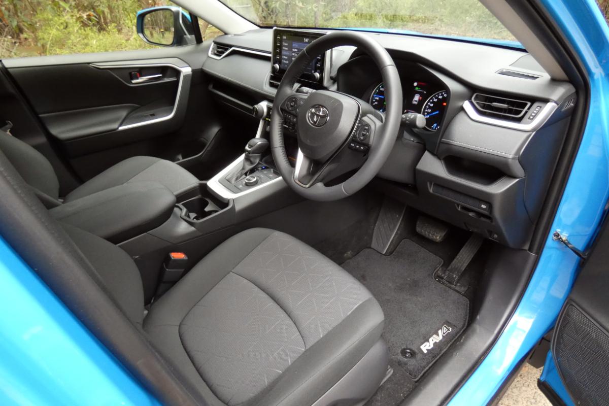 2021 Toyota RAV4 GXL Hybrid AWD 5