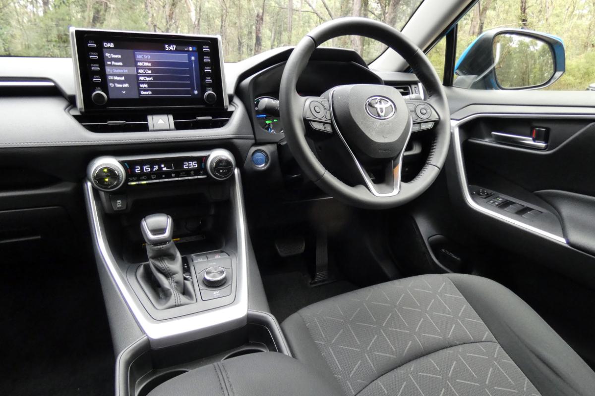 2021 Toyota RAV4 GXL Hybrid AWD 6