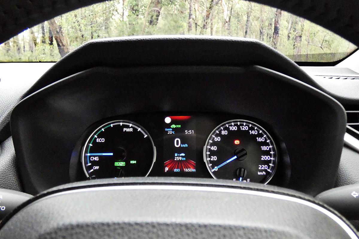 2021 Toyota RAV4 GXL Hybrid AWD 7