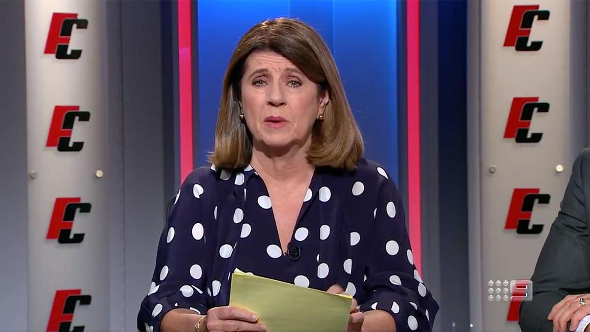Journalist Caroline Wilson