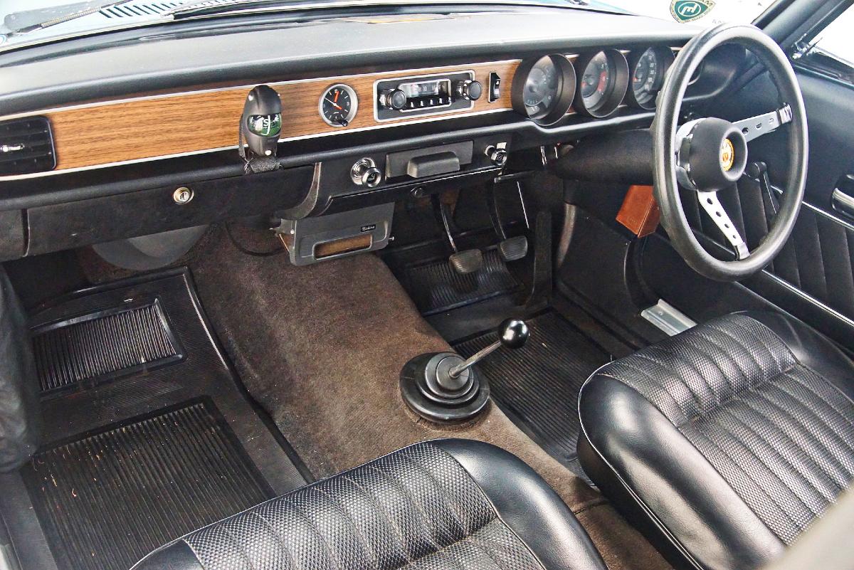 Mazda 1500 inside