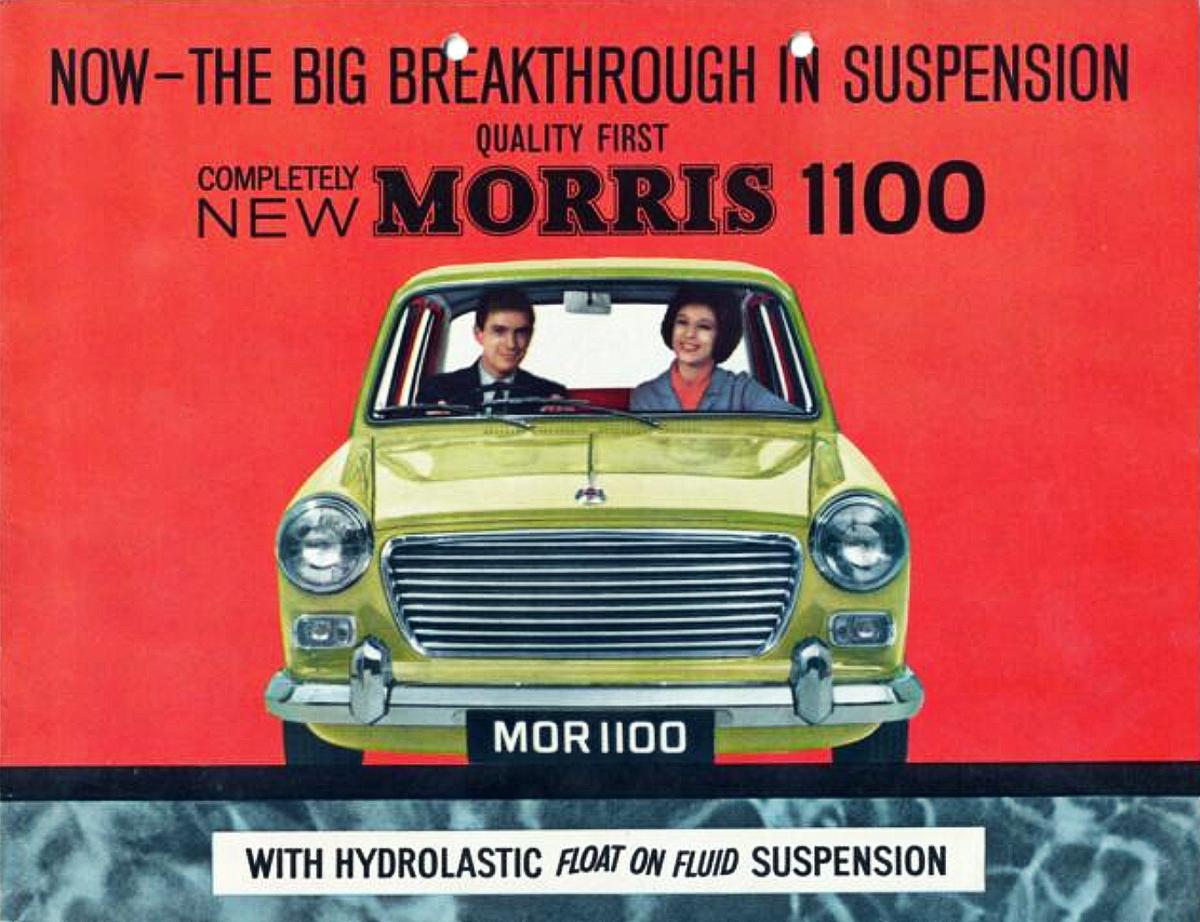 Morris 1100 advertisement 1