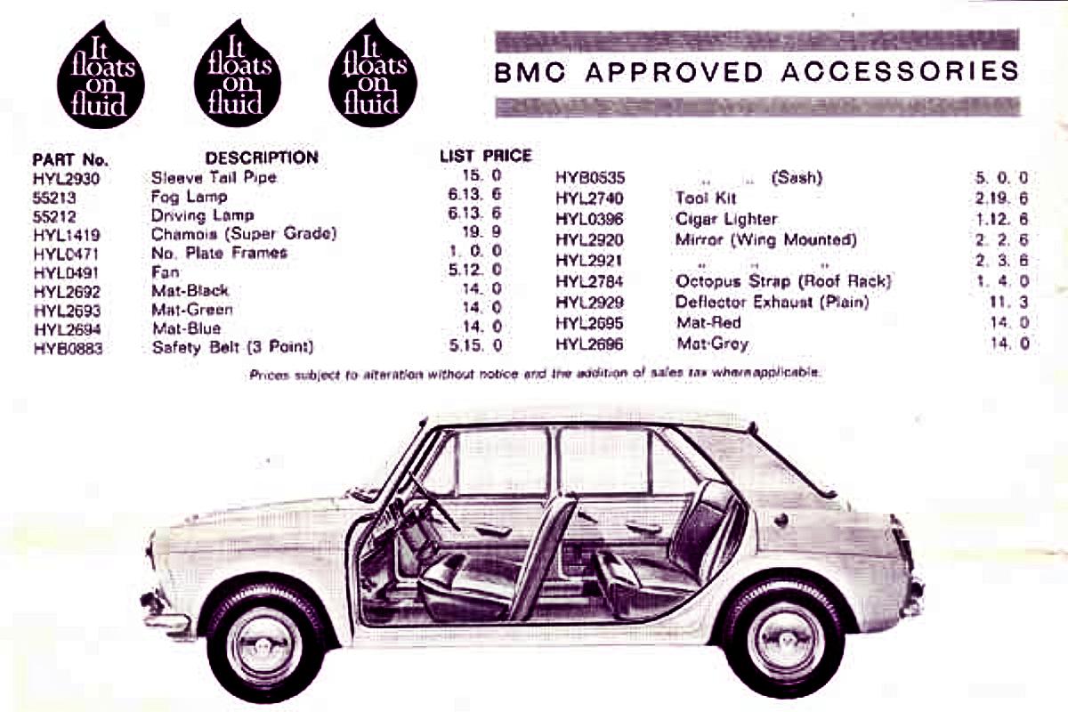 Morris 1100 advertisement 2