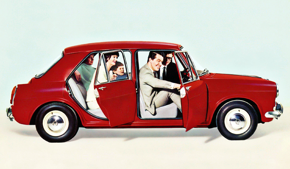 Morris 1100 advertisement 4