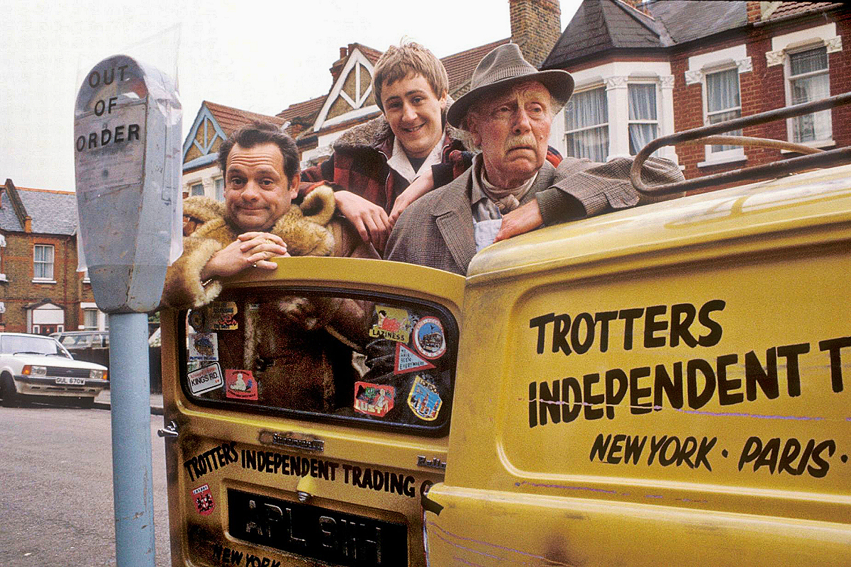 Only Fools and Horses the Trotters