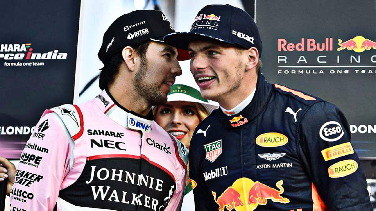 Perez and Verstappen