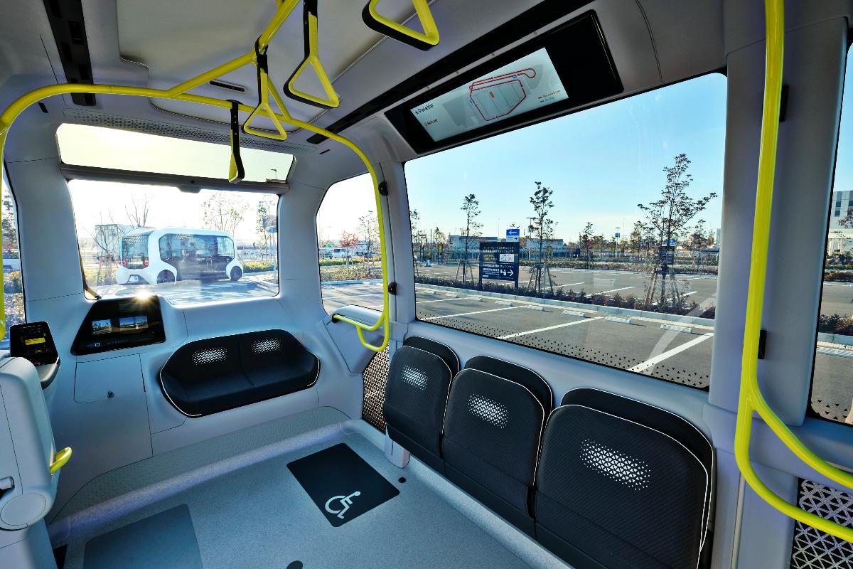 Toyota e Palette autonomous electric vehicle 1
